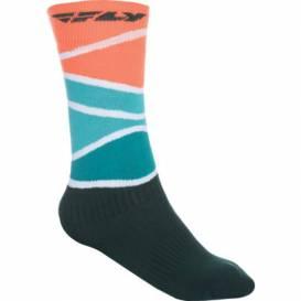 Ponožky MX, FLY RACING - USA (červená/modrá/černá)