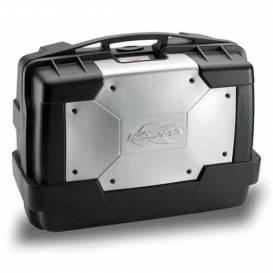 MONOKEY TopCase / Side case GARDA - 46l, KAPPA (silver / black, composite)