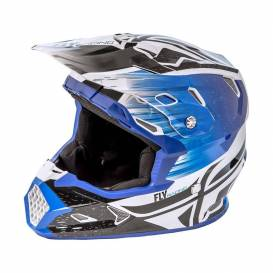 Helmet TOXIN RESIN - MIPS, FLY RACING - USA, (black / blue) size: M
