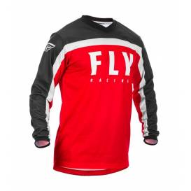 Jersey F-16 2020, FLY RACING - USA children (red / black / white)