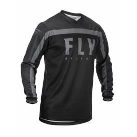 Dres F-16 2020, FLY RACING - USA detská (čierna / sivá)