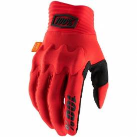 COGNITO gloves, 100% (red / black)