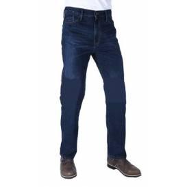 PRODLOUŽENÉ kalhoty Original Approved Jeans volný střih, OXFORD, pánské (sepraná modrá)