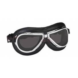 Vintage brýle 500, CLIMAX (černé/chrom, skla kouřové)
