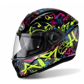 STORM COOL BICOLOR Helmet, AIROH - Italy (black / yellow)