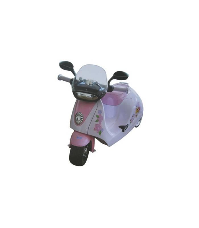 Elektro skútr 6V / 25W - růžový