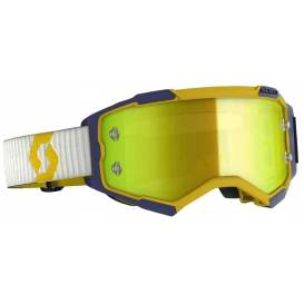 Glasses FURY, SCOTT (yellow / blue, yellow chrome, plexiglass with pins for slides)