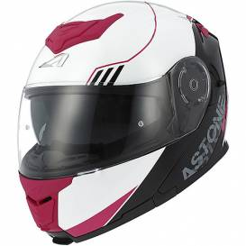 Moto prilba ASTONE RT1200 up-line ružovo / sivá