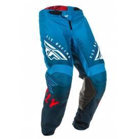 Nohavice KINETIC K220, FLY RACING (modrá / biela / červená)