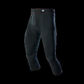 Termoprádlo spodky 3/4 Hero pant - warm, UNDERSHIELD (černá)