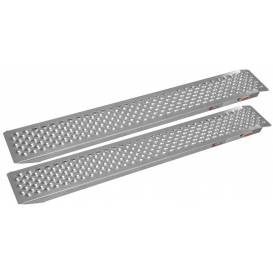 Aluminum ramp, Q-TECH (1 pair)
