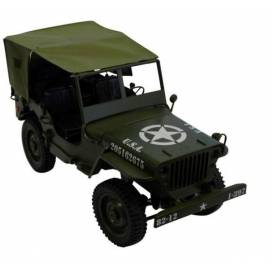 Tarpaulin roof for Jeep Willys military car Order no. 50370 and 50375