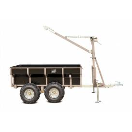 Trolley for quads SHARK WOOD 1500 - black