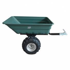 Vozík pro čtyřkolky, zahradní traktůrek SHARK GARDEN 300 - zelený