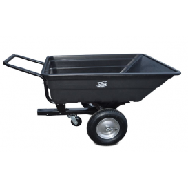 Trolley for quads SHARK GARDEN 150 with adapter for towing - black