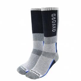 Podkolienky Thermal, OXFORD (sivé / čierne / modré)