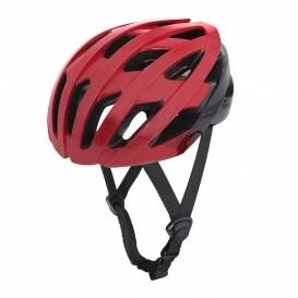 Cycling helmet RAVEN ROAD, OXFORD (red / black)