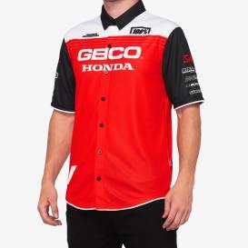 Košile BLITZ, 100% - USA (červená/bílá/černá)