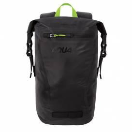 Vodotesný batoh AQUA EVO, OXFORD (čierna / žltá, objem 12 l)