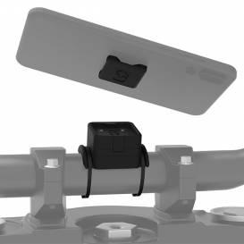 Držiak mobilných telefónov / kamier / navigáciou CLIQR, sada pre upevnenie pomocou zdrhovacie pások, OXFORD