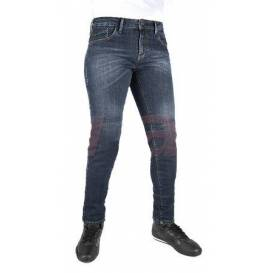 Nohavice Original Approved Jeans Slim fit, OXFORD dámske (spraná modrá)