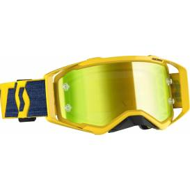 PROSPECT, SCOTT goggles (yellow, yellow chrome plexiglass with mica pins)