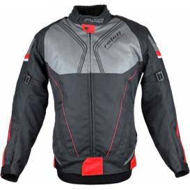 Irma jacket, ROLEFF, women's (black / red / gray)