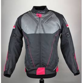 Irma jacket, ROLEFF, women's (black / pink / gray)