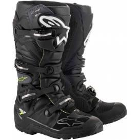 Shoes TECH 7 ENDURO DRYSTAR 2021, ALPINESTARS (black / gray / yellow fluo)