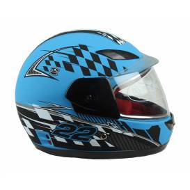 Children's helmet integral XTR 501 - matt blue