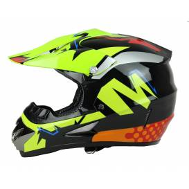 Junior cross helmet XTR 125 - yellow