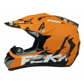Junior cross helmet XTR 125 - matt orange