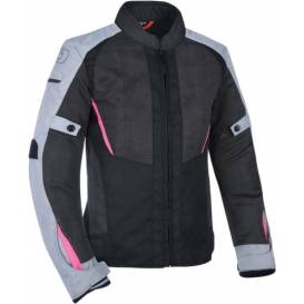 Jacket IOTA 1.0 AIR, OXFORD, women's (black / gray / pink)