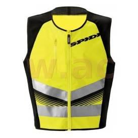 HV vest VEST LIGHT reflective, SPIDI (yellow / black)