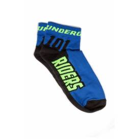 Socks ROCK, 101 RIDERS - CZ (blue / fluo)