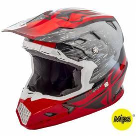 TOXIN RESIN helmet - MIPS, FLY RACING, children (red / black)
