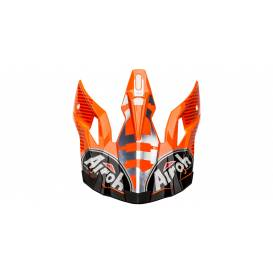 Replacement visor for helmets AVIATOR 2.3 Novak, AIROH - Italy (orange)