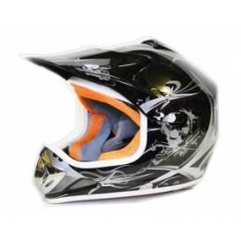 Moto prilba Sunway NITRO Enduro Junior PHX - čierna matná
