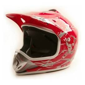 Sunway NITRO Enduro Junior PHX motorcycle helmet - red