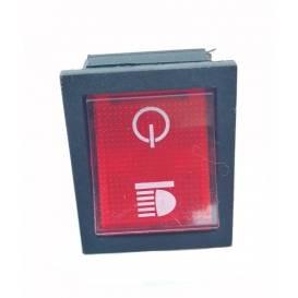 Tlačidlo zapnutia svetiel pre Buggy K3