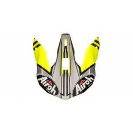 Náhradní kšilt pro přilby WRAAP Broken, AIROH - Itálie (matná žlutá)