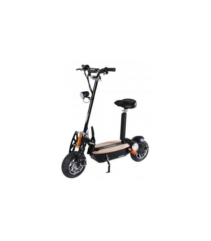 X-scooters XT01 WOOD 36V Li Černá