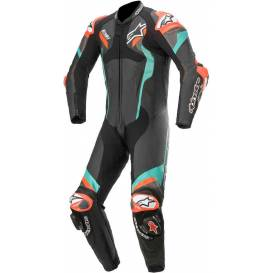 One-piece overalls ATEM V4 2021, ALPINESTARS (black / blue / red fluo)