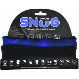 Nákrčník SNUG BLUE HAVOC, OXFORD (modrá / čierna)