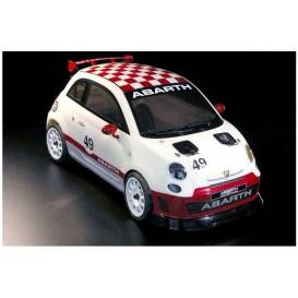 Licensed FIAT 500 Rally ABARTH 4 WD with painted body 100% RTR - 2.4 Ghz 1: 9!