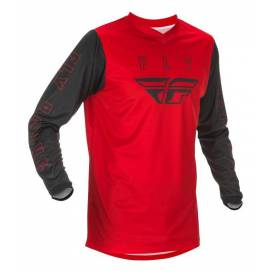 Jersey F-16 2021, FLY RACING - USA children (red / black)