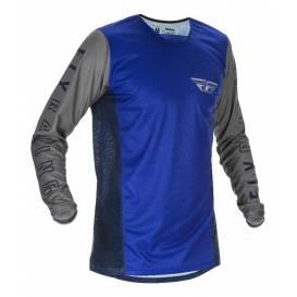 Dres KINETIC K121 2021, FLY RACING - USA (modrá/modrá/šedá)