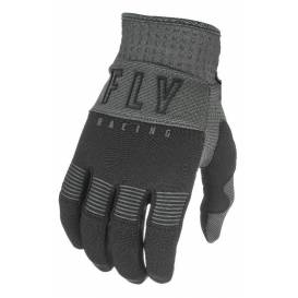 Gloves F-16 2021, FLY RACING - USA children (black / gray)