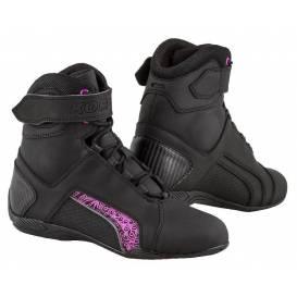 Topánky Velcro 2.0, KORE, dámske (čierne / fialové)