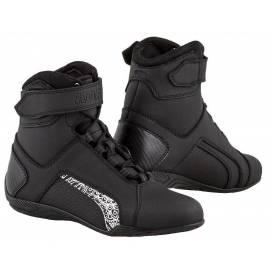 Topánky Velcro 2.0, KORE, dámske (čierne / biele)